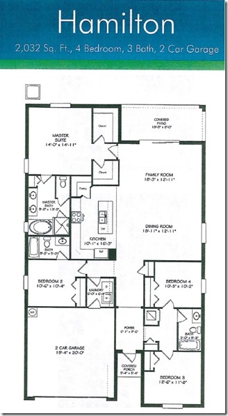 100 usda financing available for a new home in ruskin for Florida floor plans for new homes