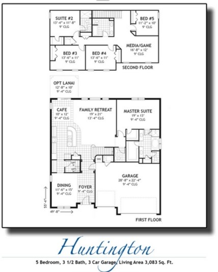 The preserve at bullfrog creek homes in riverview florida for Florida floor plans for new homes