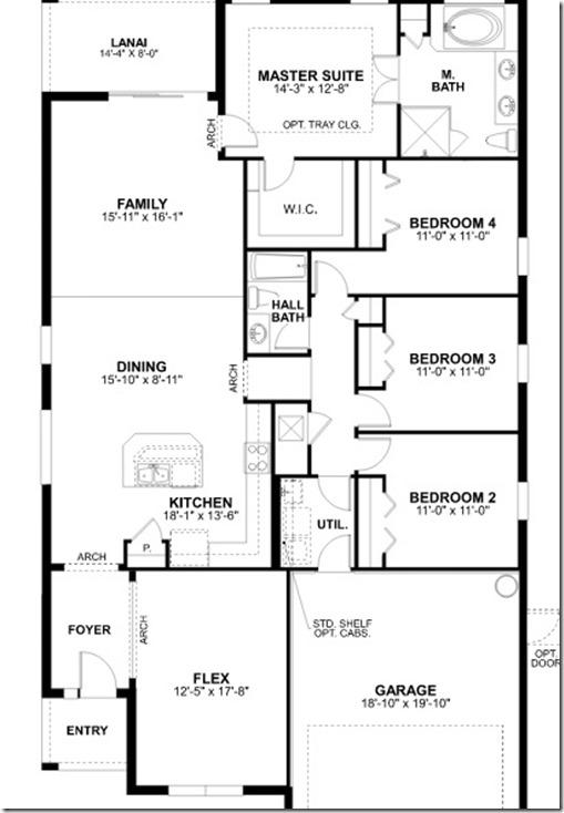 Newport II Genesis Floor Plan